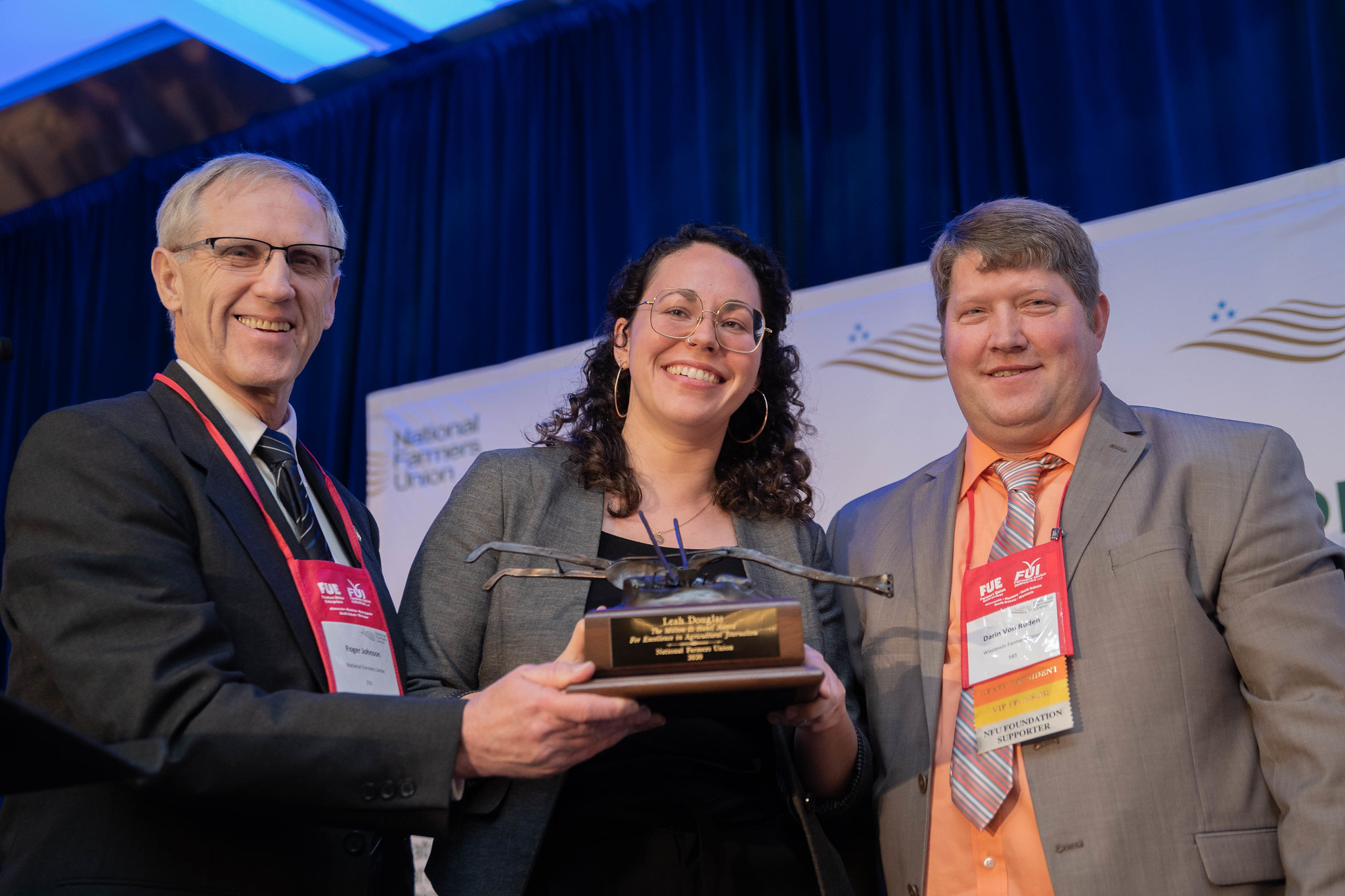 Farmers Union Honors Leah Douglas for Excellence in Agriculture Communications